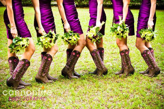 Cowboy Weddings Ideas: Cowboy Boots At Weddings