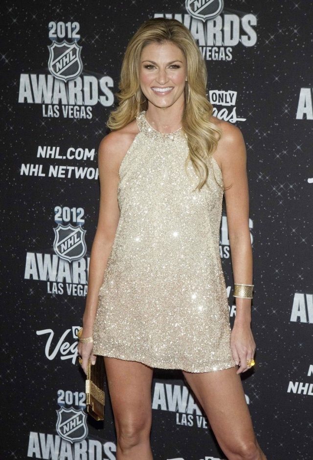 ERIN ANDREWS at 2012 NHL Awards in Las Vegas