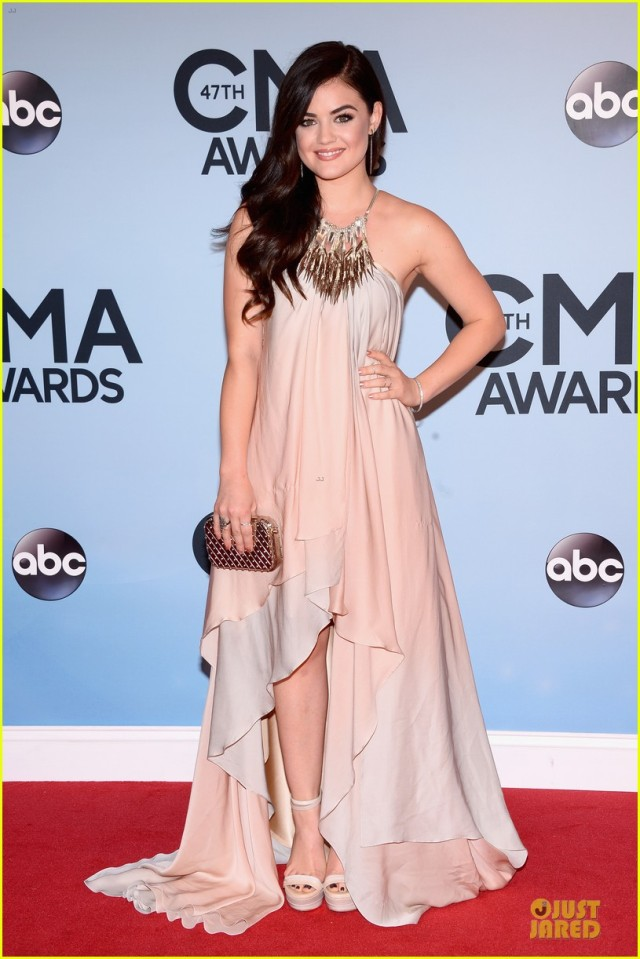 lucy-hale-colbie-caillat-cma-awards-2013-red-carpet-06