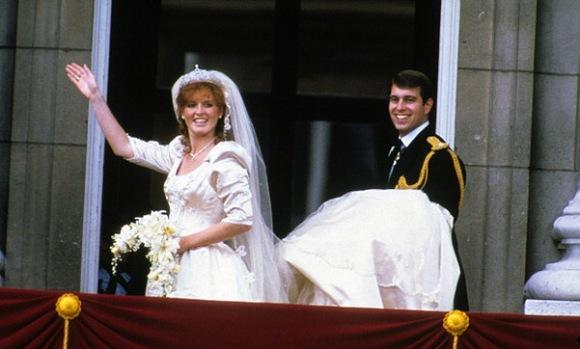 Wedding of Prince Andrew and Sarah Ferguson, 1986