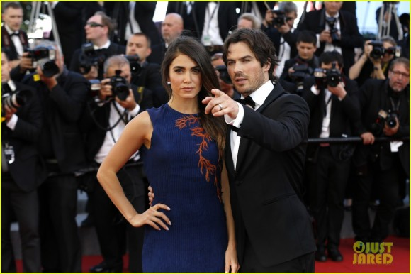 68th Annual Cannes Film Festival - 'Youth' - Premiere Featuring: Nikki Reed, Ian Somerhalder Where: Cannes, Alpes-Maritimes, France When: 20 May 2015 Credit: Dave Bedrosian/Future Image/WENN.com **Not available for publication in Germany, Poland, Russia, Hungary, Slovenia, Czech Republic, Serbia, Croatia, Slovakia**