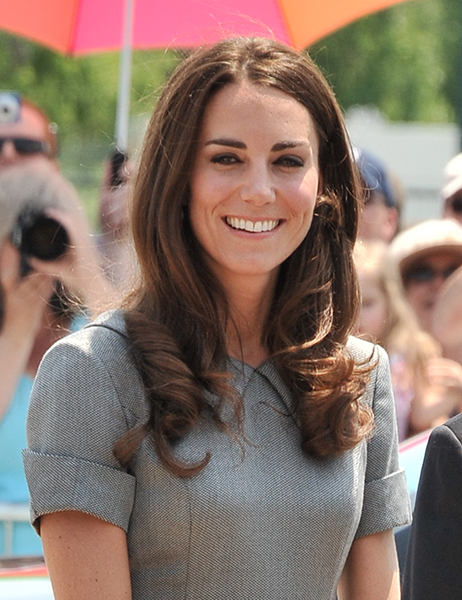 OTTAWA, ON - JULY 02: Catherine, Duchess of Cambridge arrives at the Canadian War Muesum on July 2, 2011 in Ottawa, Canada. (Photo by George Pimentel/WireImage)
